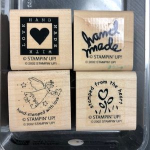 "Stampin' Up! ""Hand Made with Love"" Stamp Set"